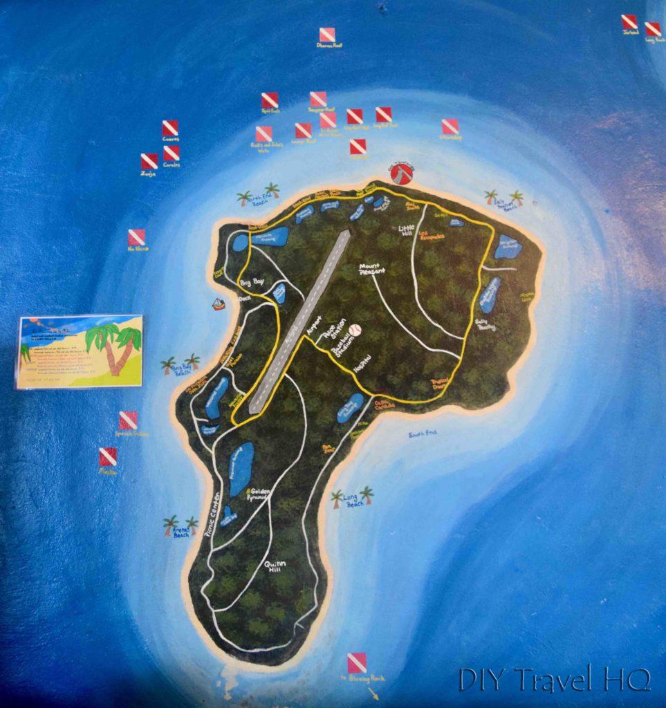 Big Corn Island dive sites