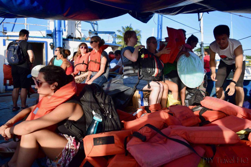 Big Corn Island to Little Corn Island Cargo Boat with Passengers