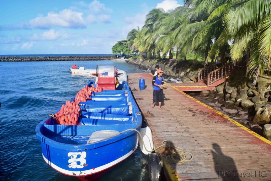 Big Corn Island to Little Corn Island Panga Boat