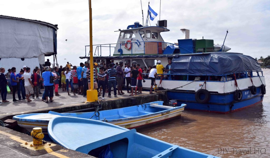 Bluefields to Big Corn Island Ferry