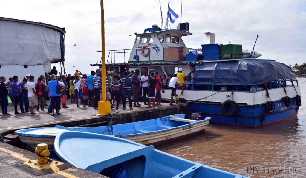 Bluefields to Big Corn Island Ferry