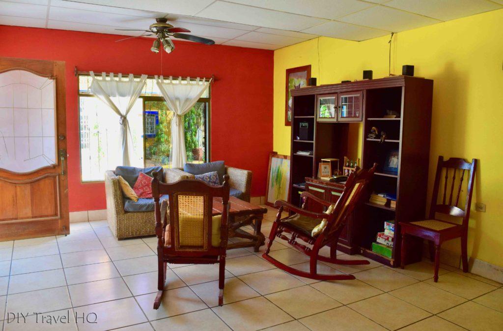 Casa Ariki Living Room