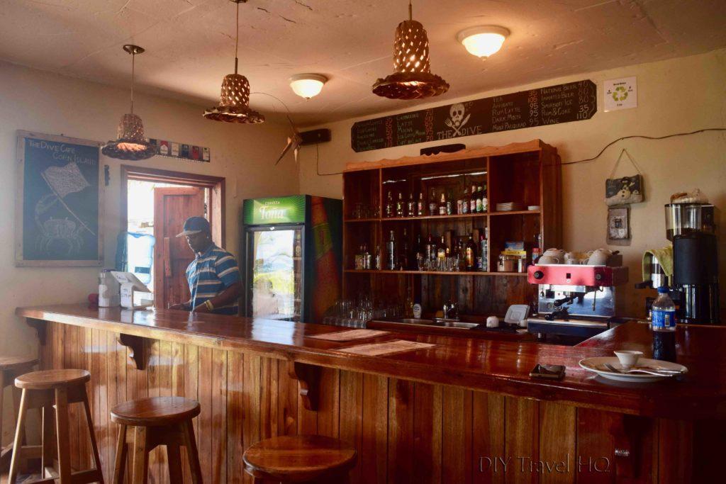Bar on Big Corn Island