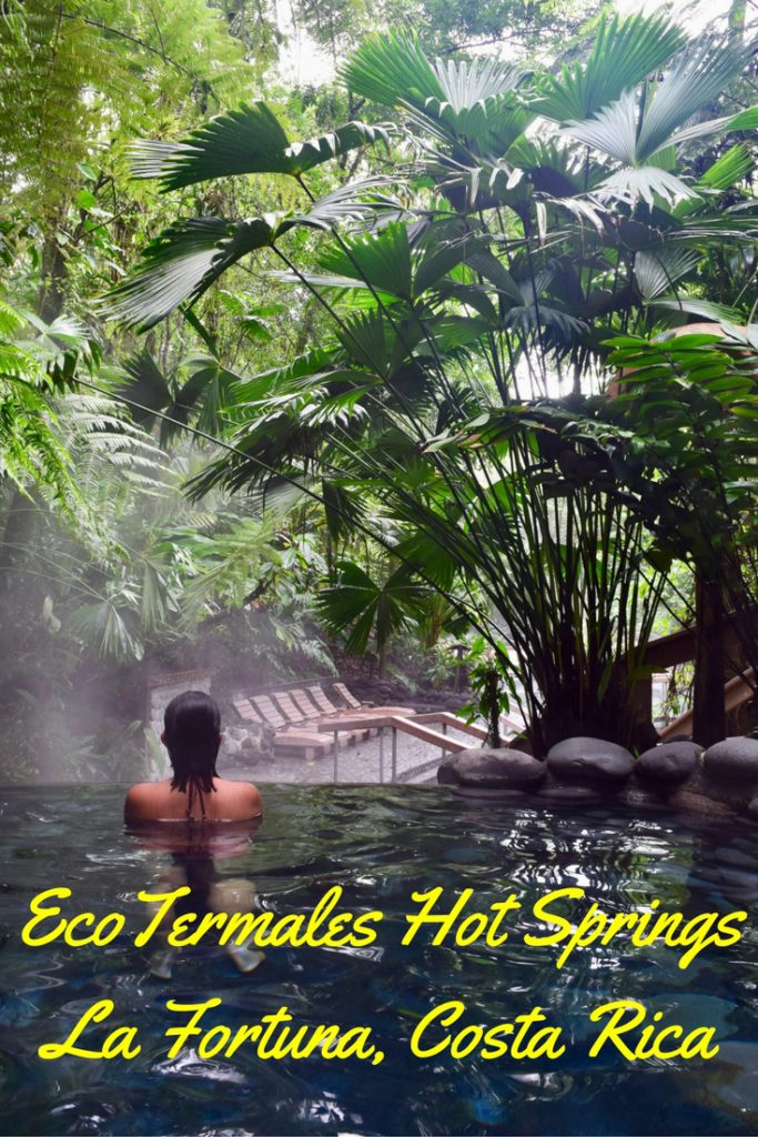 EcoTermales natural hot springs are a great way to relax after an adventure packed day in La Fortuna, Costa Rica. Find out how to soak up all the magic created by Volcano Arenal!