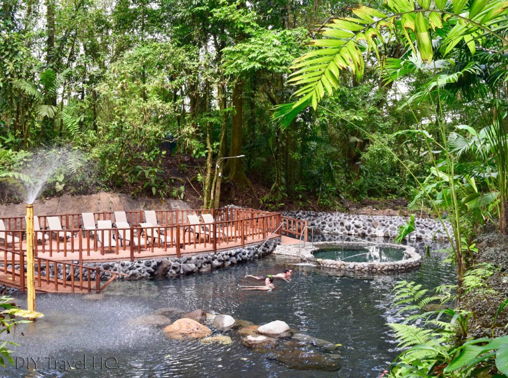 EcoTermales La Fortuna Lower Tier Pools & Sun Deck