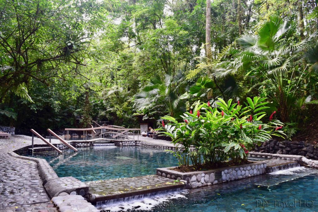 EcoTermales La Fortuna Mid-Level Pools