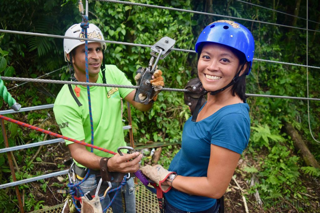 Guide at Ecoglide La Fortuna