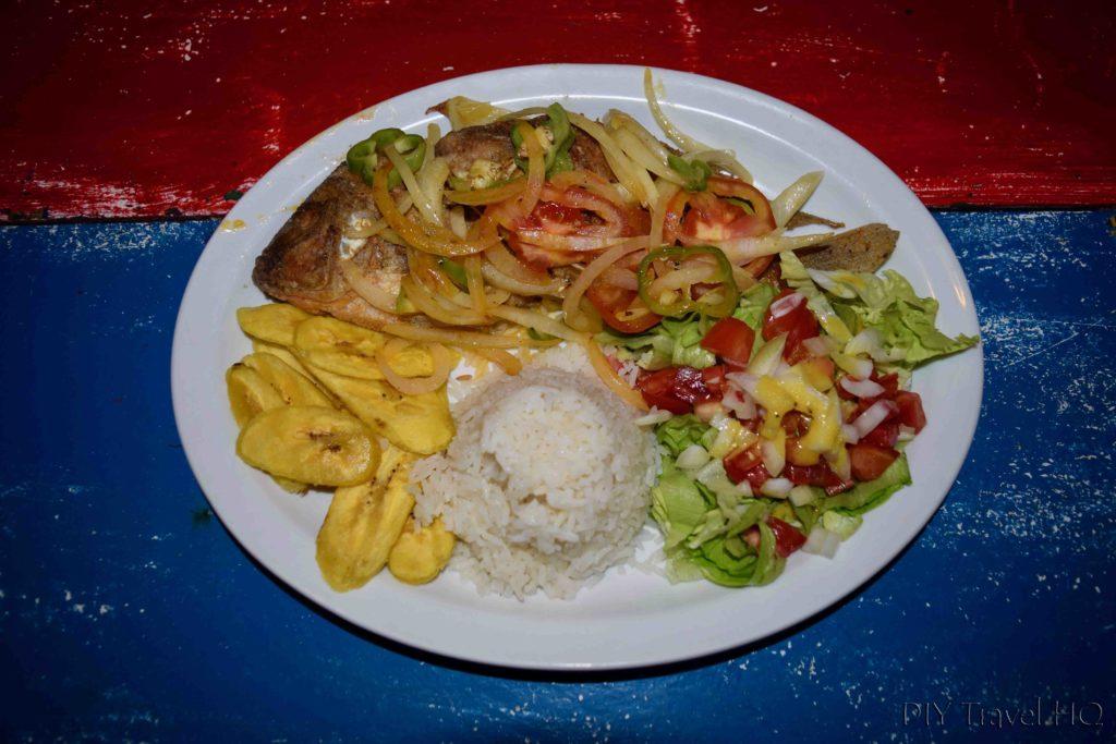Dinner at Hospedaje Central