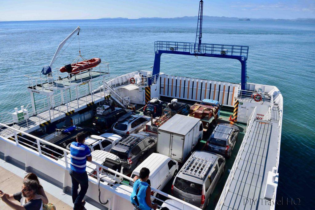 Paquera ferry to Montezuma