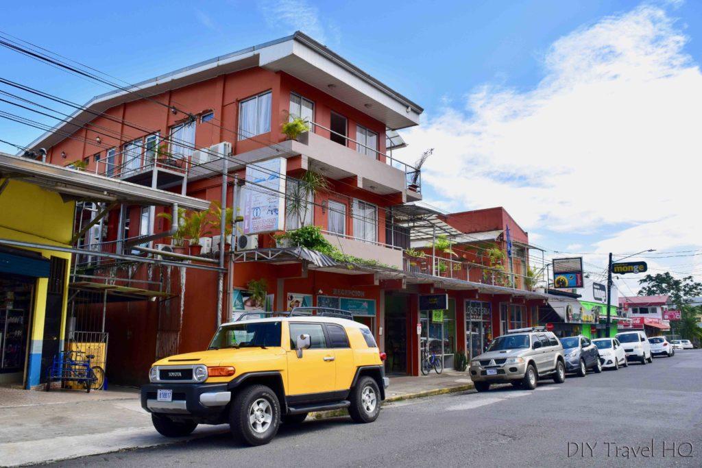 Hotel Las Colinas location