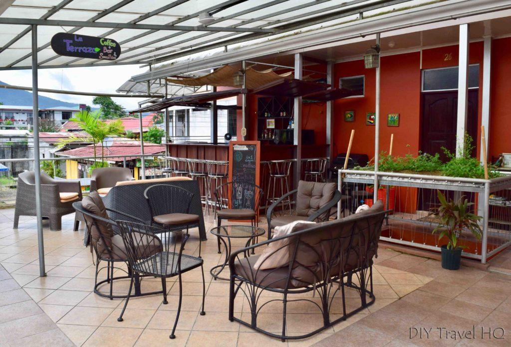 Rooftop bar Hotel Las Colinas