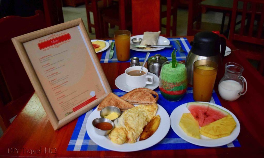 Breakfast at Hotel Las Colinas
