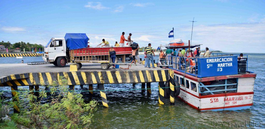 Ferry to Isla de Ometepe