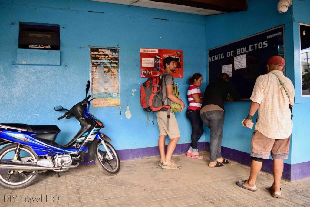 Managua to El Rama Costa Atlantica Bus Terminal