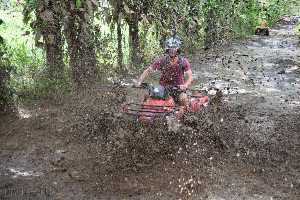 Muddy ATV adventures