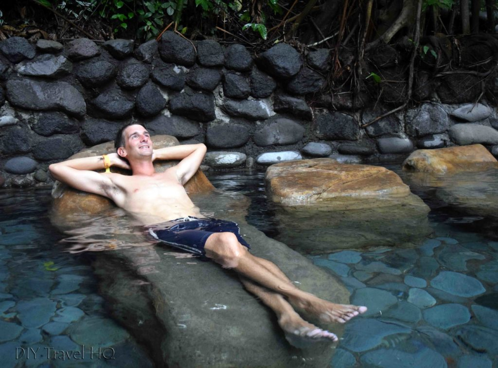 Relaxing in Hot Spring Pools at EcoTermales