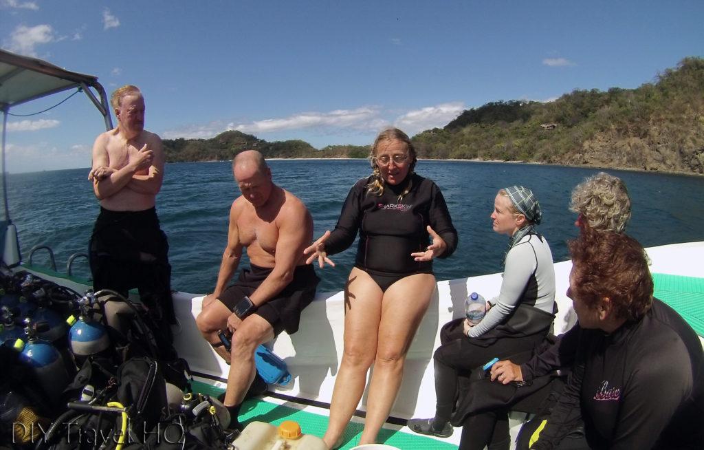 Sirenas Dive Briefing