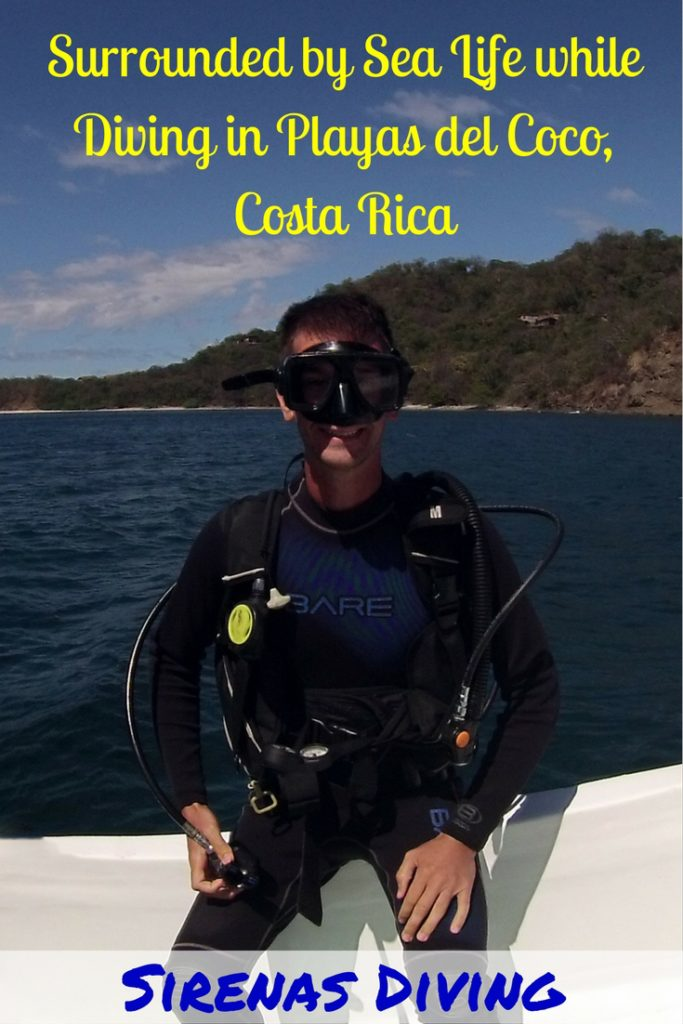 Sirenas Diving has a winning combination on land & in the water. You can either visit Playas del Cocos in Costa Rica yourself, or get a taste of what to expect by reading our post. What are you waiting for? You can see rays, lobster, shrimp, flounder, sea snakes, moray eels, starfish, sea urchins, stargazers, puffer fish & more. There are local sites or you can visit Catalina Island or the Bat Islands.