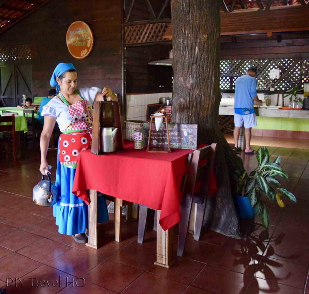Vida Campesina Coffee Demonstration