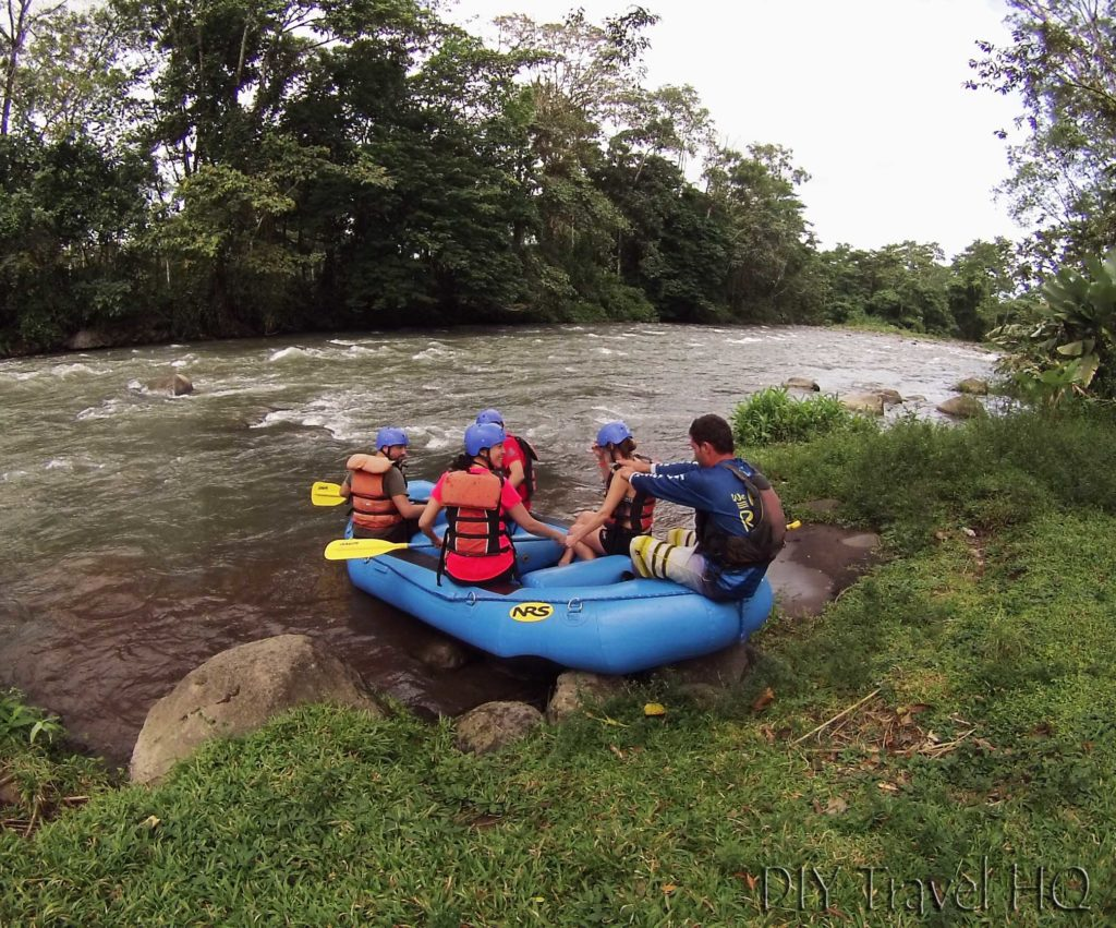 Wave Expeditions Rafting Drills