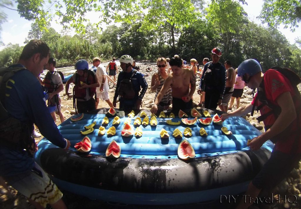 Wave Expeditions Rafting Fruit Snack