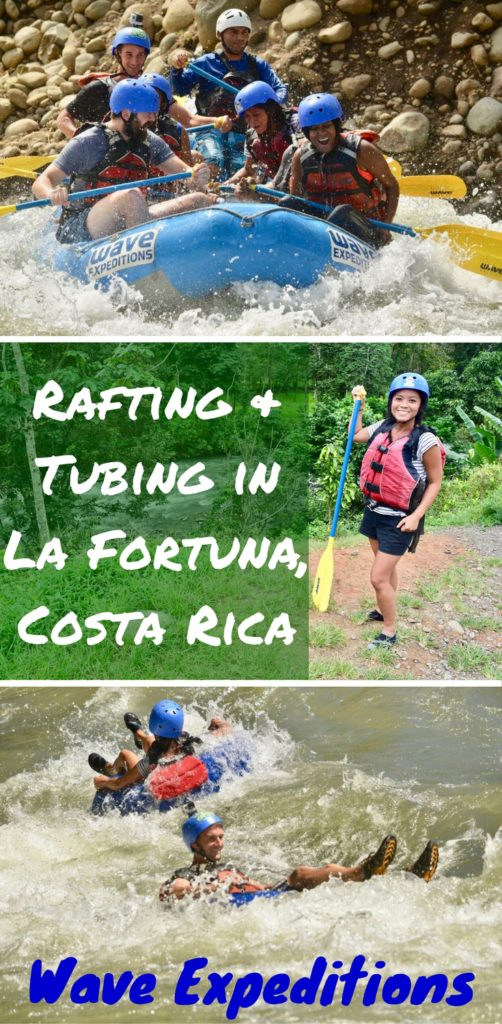 Rafting & tubing with Wave Expeditions is a fun & adventure packed day in La Fortuna, Costa Rica. Enjoy the Class II & III rapids on the Balsa River, buffet lunch, & educational demonstrations at Vida Campesina!