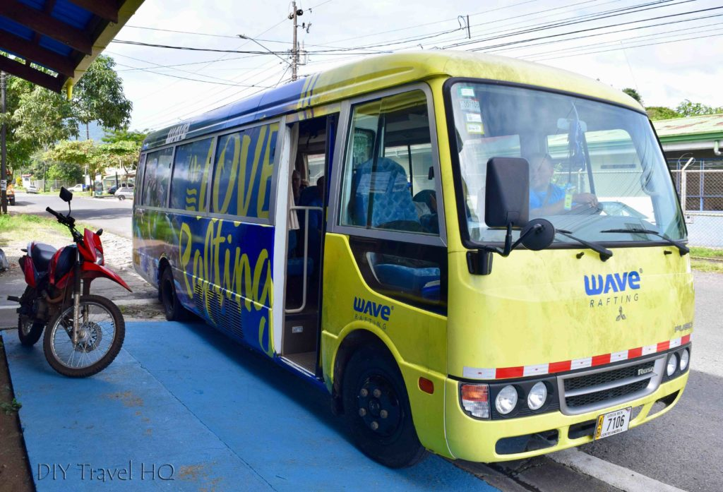 Wave Expeditions Shuttle Bus
