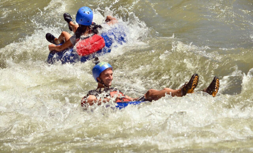 Wave Expeditions Tubing in La Fortuna Costa Rica