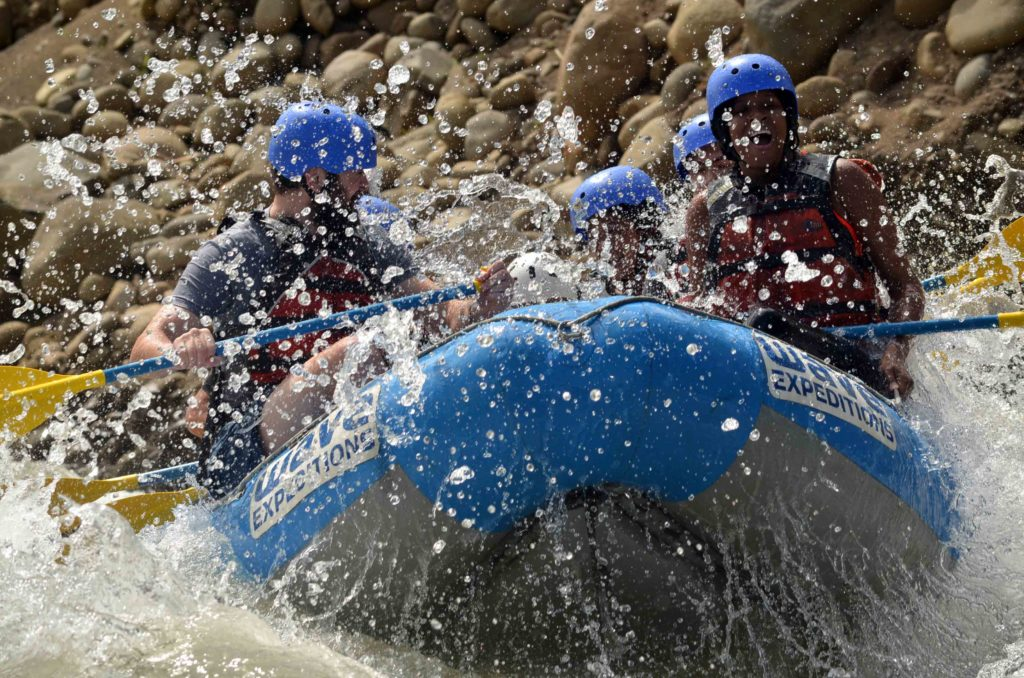 Wave Expeditions White Water Rafting Adventure