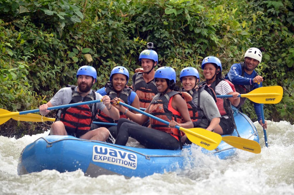Wave Expeditions White Water Rafting La Fortuna