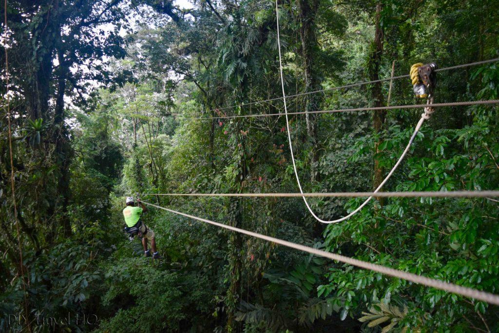 Ecoglide Canopy Zip Line