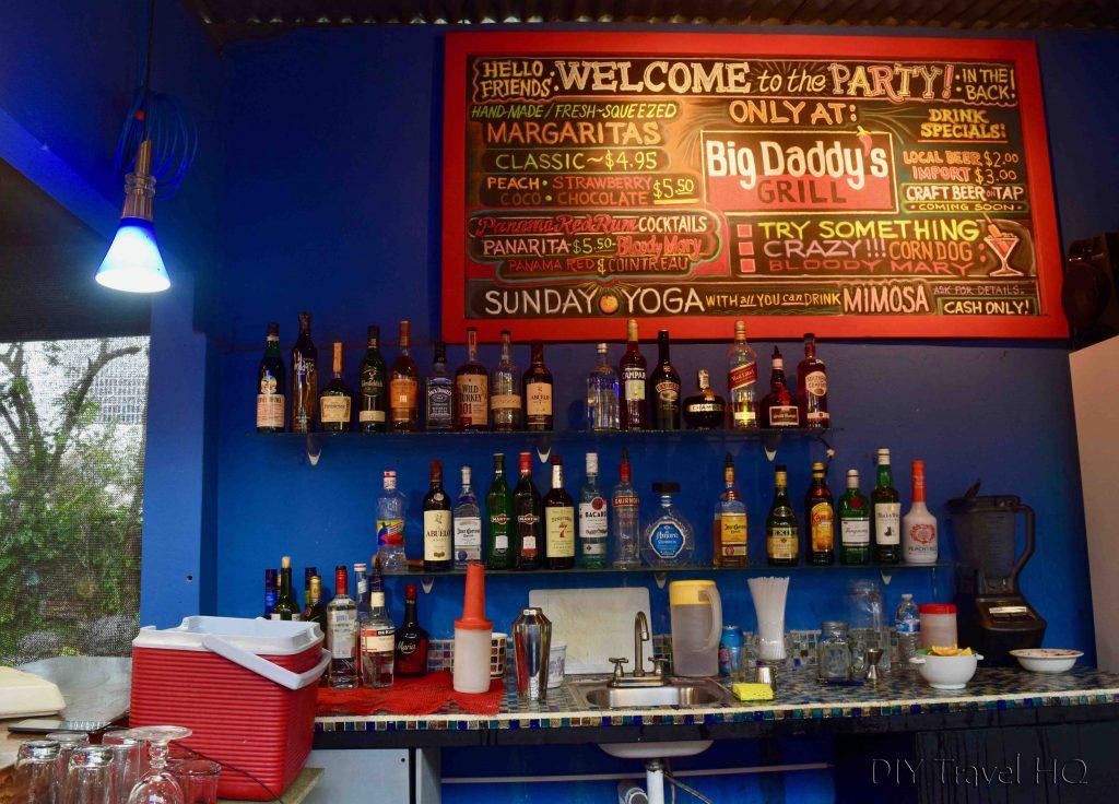 Bar at Big Daddy's Grill