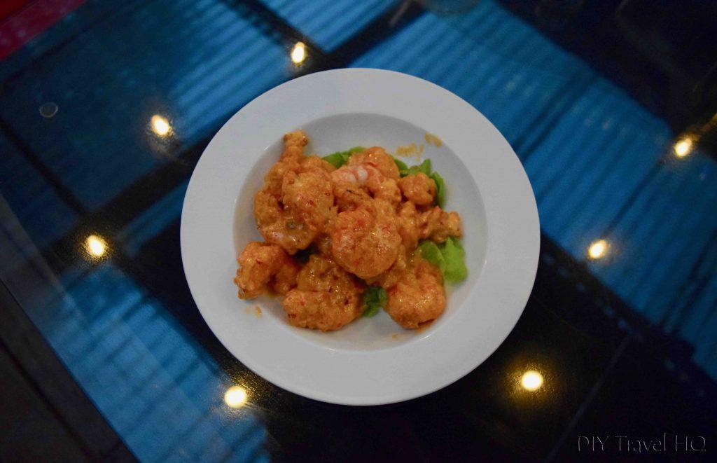 Big Daddy's Grill Boom Boom Shrimp Boquete Panama