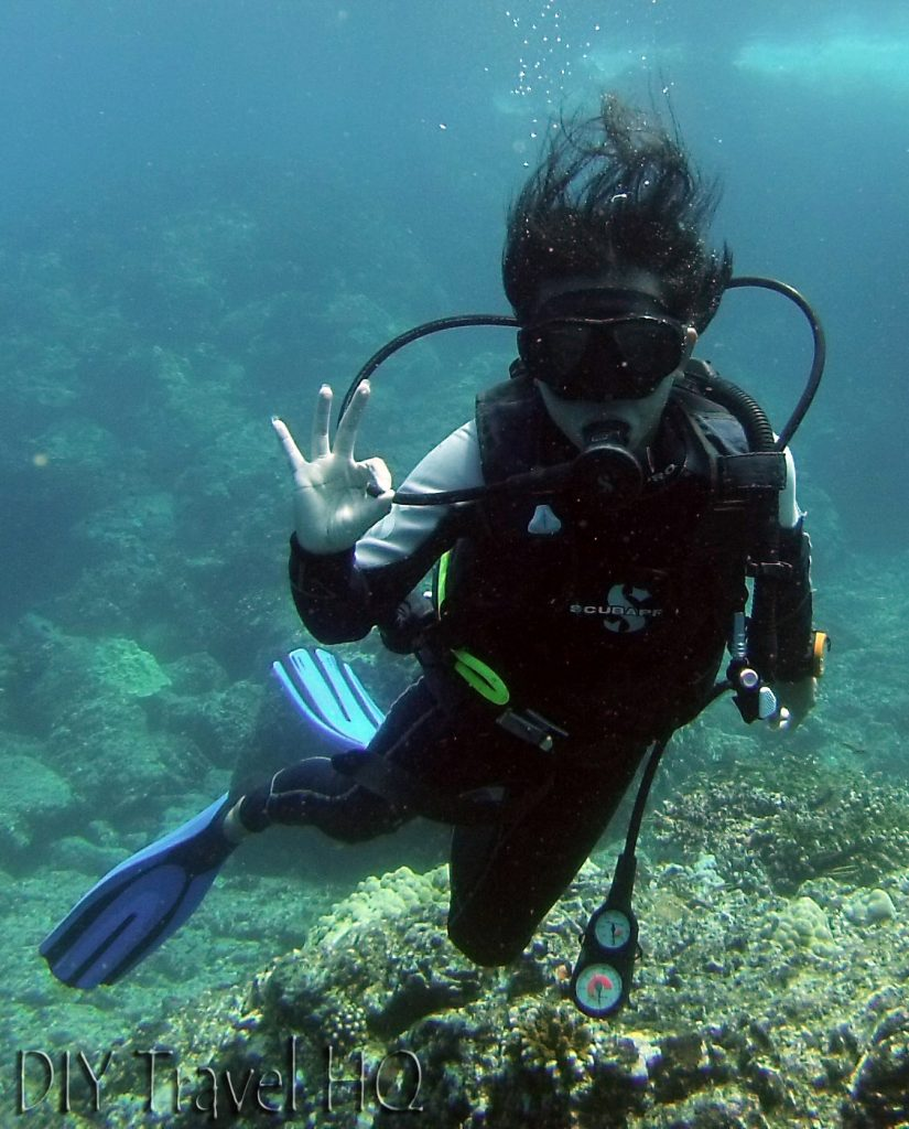 Diver Coiba National Park