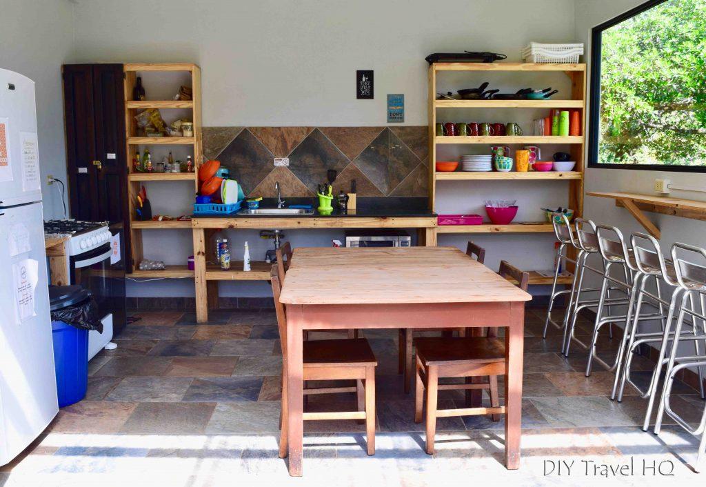 Kitchen El Machico Boquete