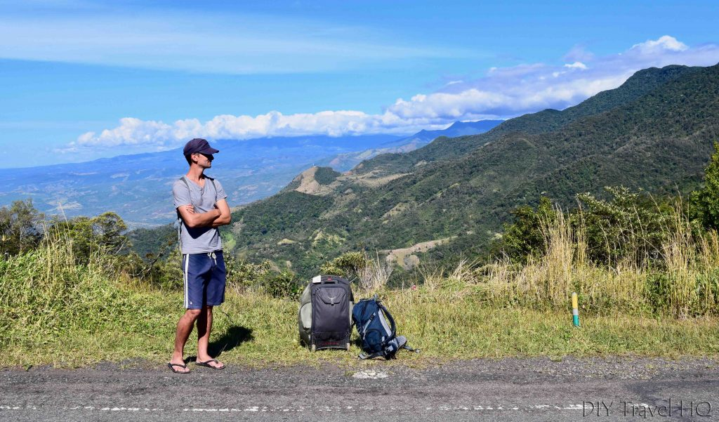 Panama hitchhiking