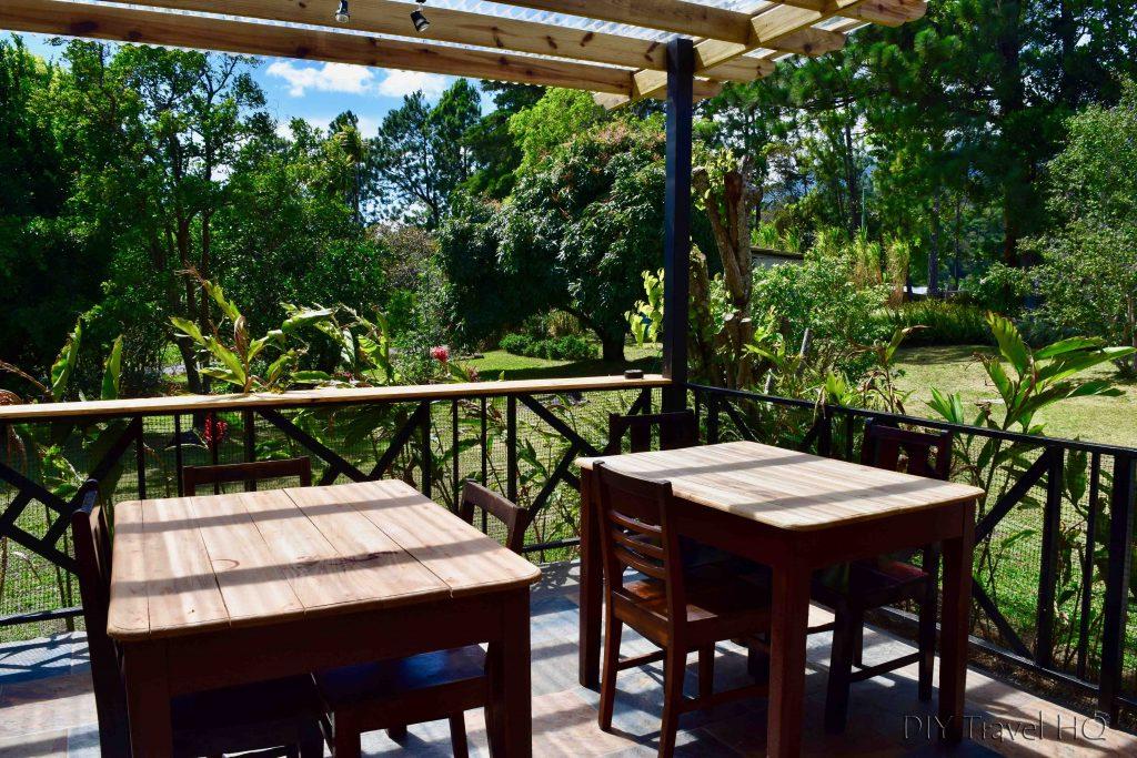 Dining El Machico Hostel Boquete