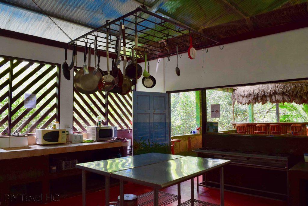 Kitchen La Chosa del Manglar