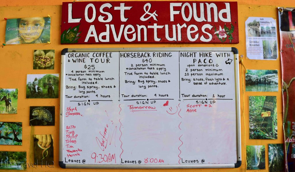 Activities Lost & Found Hostel