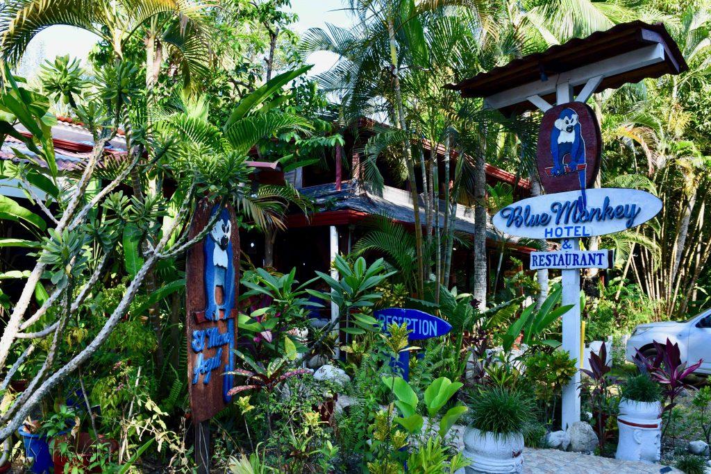 Entrance Hotel Mono Azul