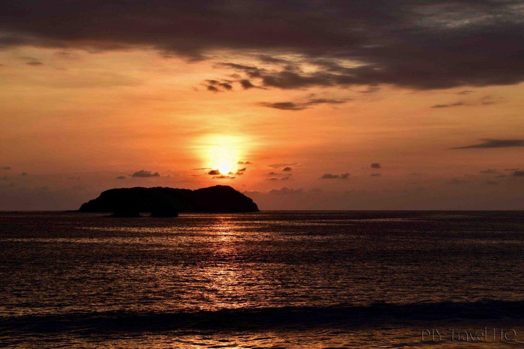 Sunrise Manuel Antonio beach