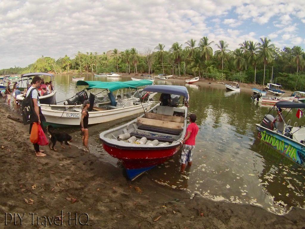 Dive boat Panama Dive Center