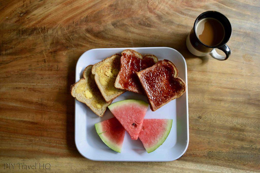 Breakfast Playa 506 hostel