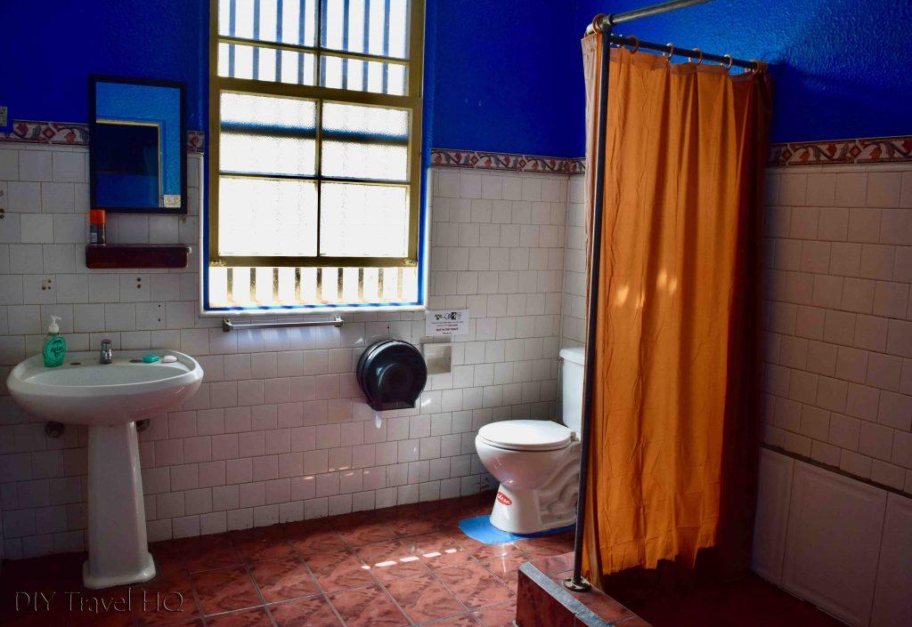 Relax Hostel bathroom