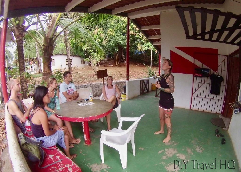 Briefing Panama Dive Center