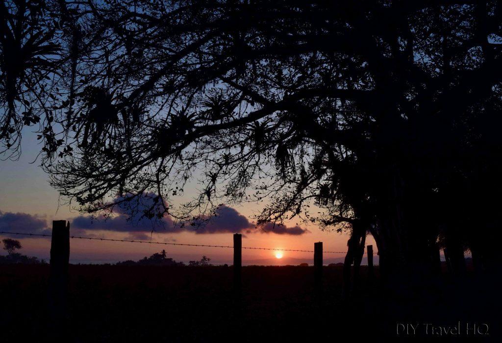 Sunrise Puerto Jimenez