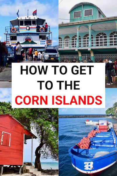 Relaxing on Big Corn Island and ittle Corn Island are two of the best things to do in Nicaragua. Find out how to get to paradise on the Corn Islands #nicaragua #cornisland #centralamerica