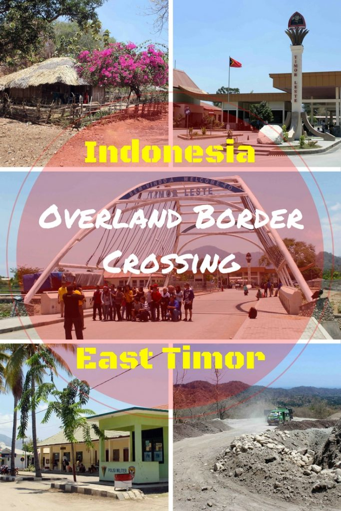 Whether you're travelling from Kupang, Kefemenanu or Atambua, be prepared for a long & bumpy road to the East Timor border. After visiting Tamkessi village from Kefemenanu, I took a bus onwards to Atambua & stayed overnight at Hotel Paradiso. For the East Timor border, you need a bemo going to Mota'in. Most backpackers head to Dili on the other side.