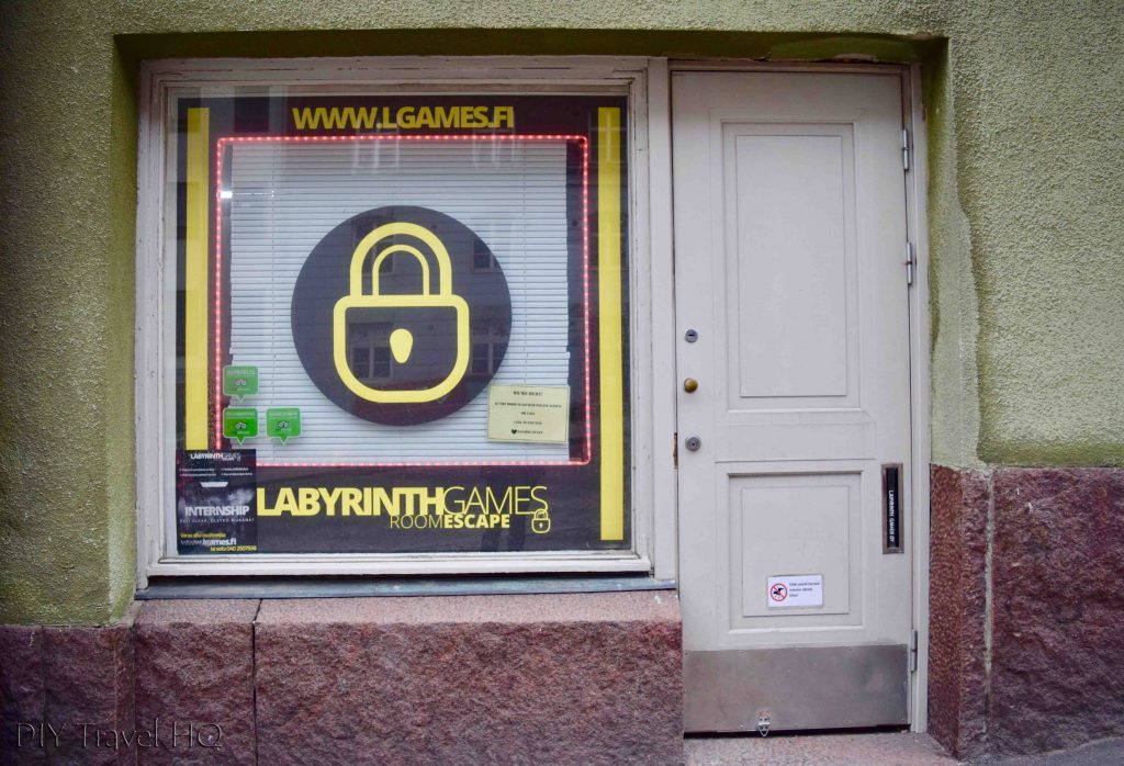 Labyrinth Games escape room