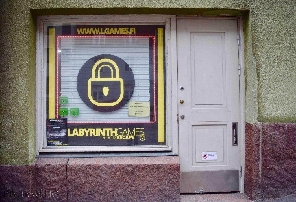 Labyrinth Games escape room